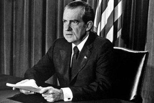 水门事件的美国总统是谁?