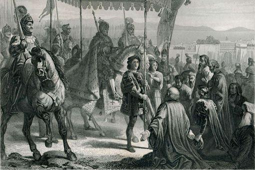 法兰西瓦卢瓦王朝第七位国王查理八世诞生