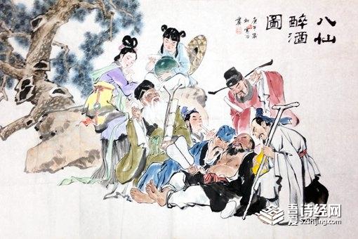 民间传说中的八仙为什么非要过海?他们过海去干什么?