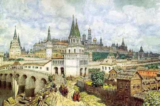 莫斯科公国崛起的原因是什