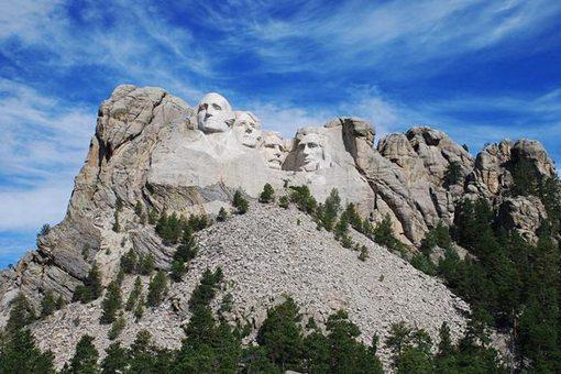 总统山怎么雕刻的?总统山是如何建造而成的?