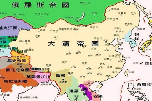 清朝灭亡时领土面积有多少