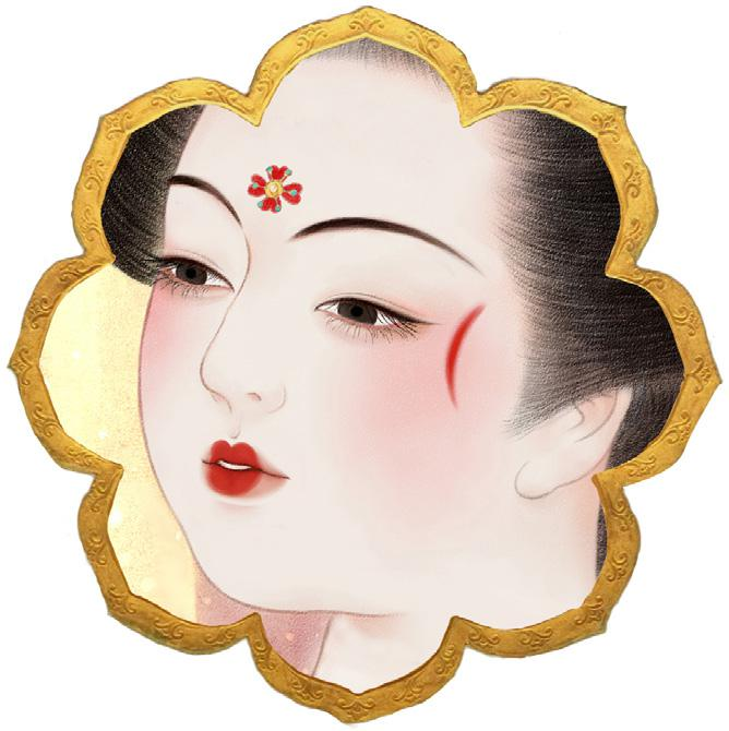 唐朝女人怎么化妆的?唐朝女人化妆图片