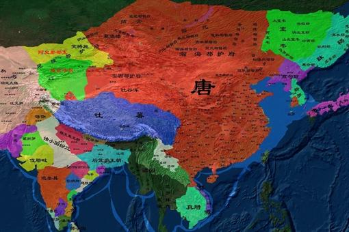 唐朝的实际控制疆域有多大?解密唐朝实际控制版图