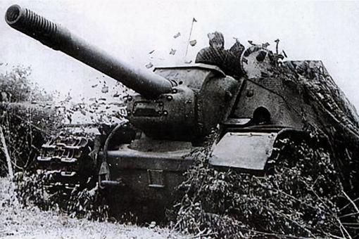 SU152突击炮装甲如何?SU15
