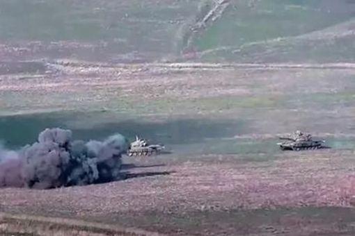 阿塞拜疆在纳卡地区发动坦克攻击 其主要原因是什么?