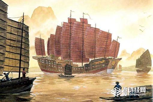 明朝出海的船队之间,是怎么交流的?