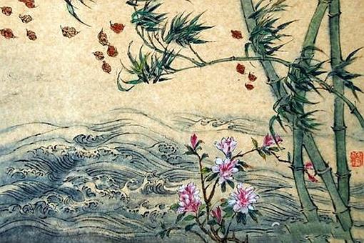 解落三秋叶能开二月花写的是什么自然现象