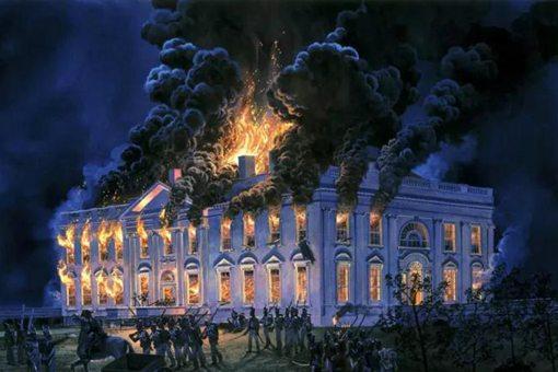 历史上美国国会大厦暴力事件 揭秘英国焚毁美国国会大厦事件