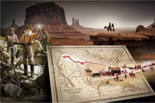 西进运动美国从哪些国家获得领土 揭秘美国西部大开发
