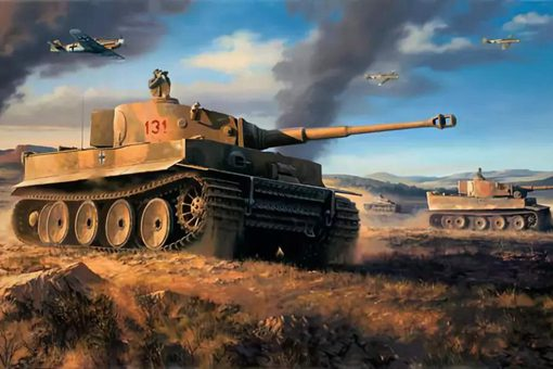 虎式坦克为何采用垂直装甲