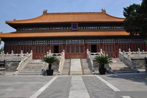 清朝祭祀使用太庙 那么原