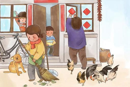 春节前扫尘古人何时能用上扫帚 春节前扫尘何时用上扫帚的