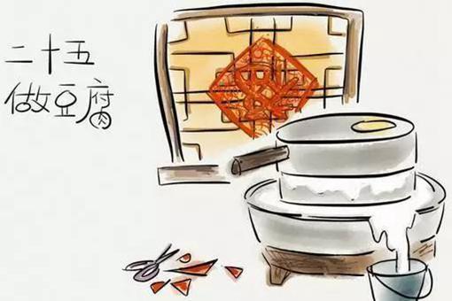 过年腊月二十五做什么 腊月二十五磨豆腐啥意思