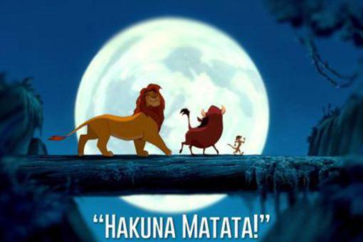 Hakuna Matata是什么语言