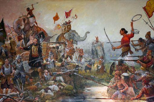 甘诺鲁瓦山战役经过 葡萄