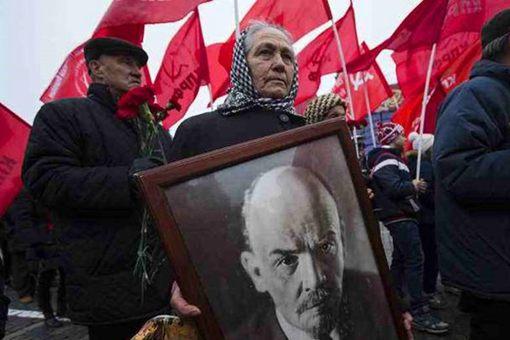 列宁在俄国人民心中有着怎