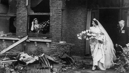 不列颠空袭时英国平民生活真实照片