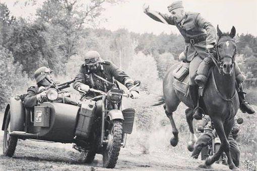 二战为什么还有那么多骑兵