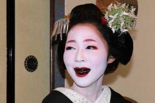 日本古代女人的牙齿为什么