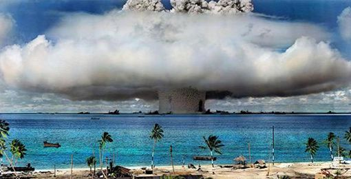 日本被氢弹炸过吗 美国什