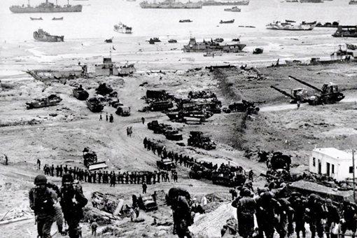 诺曼底登陆有多惨烈 总参战兵力超过400万人