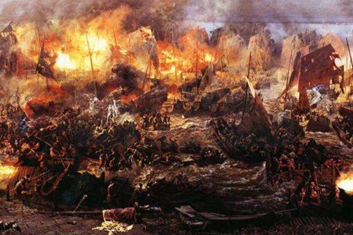 夷陵之战刘备怎么逃出来的 是被赵云救出的吗