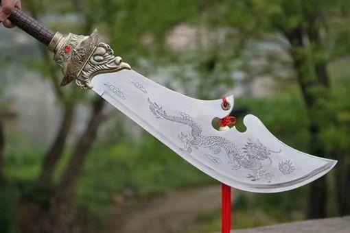 真实历史中三国关羽用的是青龙偃月刀吗