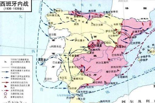 西班牙内战最后一战马德里战役