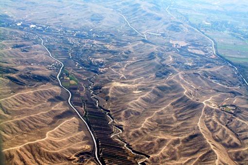 河西走廊高清地图 河西走廊地理位置图