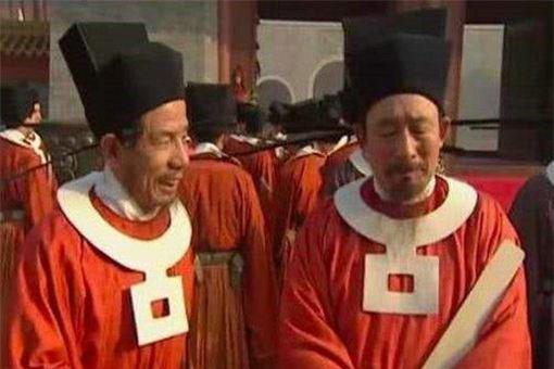 宋朝的官服胸前挂着的白圈是什么 有什么作用