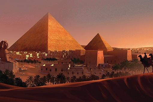 古埃及三个时期是哪三个时期