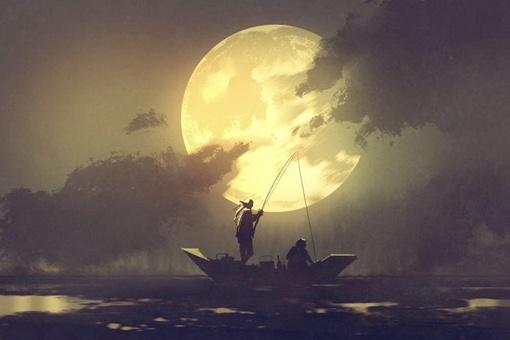 关于月亮的古诗10首